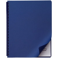 Couvertures de présentation Linen Weave Swingline GBC, bleu marine