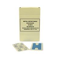 Pansements sensibles aux détecteurs de métal - bandes de tissu bleu Dentec