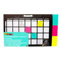 3M Large Weekly Wall Calendar/Planner with Post-it Notes