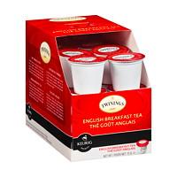 Dosettes K-Cup de thé Twinings, thé goût anglais, boîte de 24