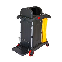 Rubbermaid High-Security Cleaning Cart