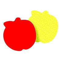 Post-it Die-Cut Apple Shape Notes