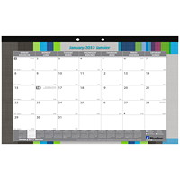 Blueline Monthly Desk Pad Calendar