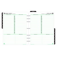Day-Timer Folio-Size Loose-Leaf Planner Refill