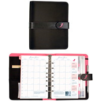 Day-Timer Pink Ribbon Undated Loose-Leaf Planner Starter Set