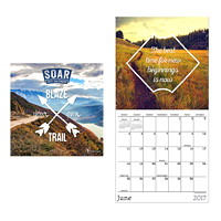 TF Publishing Mini Cubical Wall Calendar