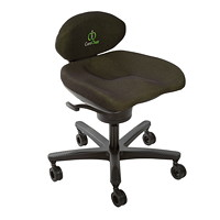 CoreChair Active Seating, Regular, Black