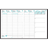 Quo Vadis Weekly President Planner Refill, 8 1/4