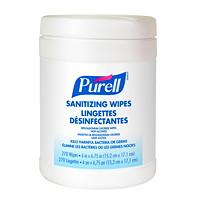 Purell Non-Alcohol Sanitizing Wipes, 270/PK