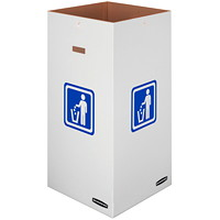 Bankers Box Waste and Recycling Bins, Large, 10/CT