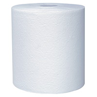 Scott 1-Ply Essential Plus+ Hard Roll Hand Paper Towels, White, 425', 12/CS