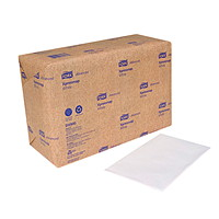 Tork 1-Ply Advanced Xpressnap Interfold Dispenser Napkins, White, 500 Sheets/PK, 12/CS
