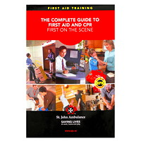 St. John Ambulance First On The Scene First Aid Manual, English