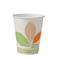 Bare by Solo Eco-Forward Paper 8 oz Hot Cups