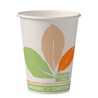 Bare by Solo Eco-Forward Paper 12 oz Hot Cups