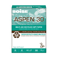 Papier recyclé à usages multiples Aspen 30 Boise