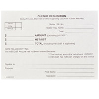 Mark Maker Cheque Requisition Pads