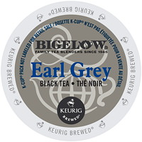 Bigelow Single-Serve Tea K-Cup Pods, Earl Grey Black Tea, 24/BX