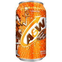 A&W Root Beer Soft Drinks