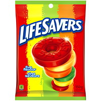 LifeSavers Five Flavour Fruit-Flavoured Hard Candy