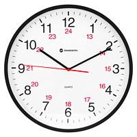 Horloge murale 12/24 heures de 12 po Grand & Toy