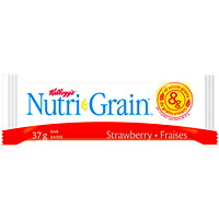 Kellogg's Nutri-Grain Cereal Bars, Strawberry, 37 g, 16/BX