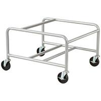 Chariot pour chaises empilables à piètement luge Safco