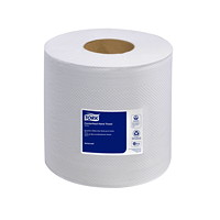 Tork 2-Ply Advanced Soft Centerfeed Hand Paper Towels, White, 500 Sheets/Roll, 6/CT