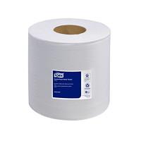 Serviettes à mains 2 épaisseurs en rouleau pour distributeur à dévidage central Advanced Soft Tork, blanc, roul. de 500 feuilles, caisse de 6
