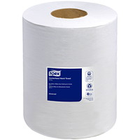 Tork 2-Ply Advanced Soft Centerfeed Hand Paper Towels, White, 600 Sheets/Roll, 6/CT