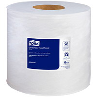 Tork 2-Ply Advanced Soft Centerfeed Hand Paper Towels, White, 590', 6/CS