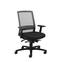 Global Spritz Weight Sensing Synchro-Tilter High-Back Ergonomic Chair, Black