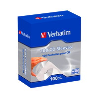 Verbatim CD/DVD Paper Sleeves