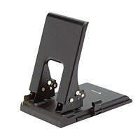 Grand & Toy Low Force Hole Punch, 2-Hole, Black