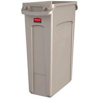 Rubbermaid Slim Jim Vented Container, 23-Gallon Capacity