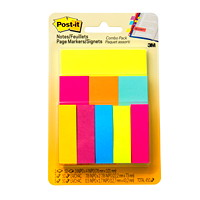 Post-it Notes and Page Markers Combo Pack