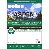 Boise Aspen Premium Recycled Colour Copy Paper