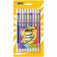 BIC Shimmers Mechanical Pencils, Medium 0.7 mm, 24/PK