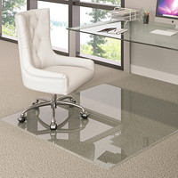 Deflecto Premium Glass Rectangle Chairmat