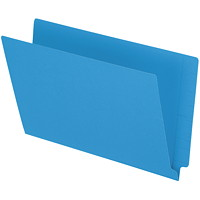 Pendaflex Blue Coloured Straight Tab Legal-size (8 1/2