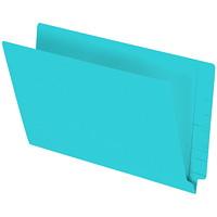 Pendaflex Turquoise Coloured Straight Tab Legal-size (8 1/2