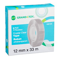 Recharge de ruban clair cristal Grand & Toy