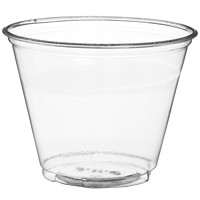 Solo Ultra Clear Squat Cups