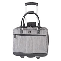 Roots Veronik Textured Wheeled Laptop Business Case