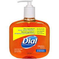 Dial Professional Original Gold Antimicrobial Liquid Hand Soap