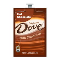 Flavia Dove Single-Serve Specialty Hot Chocolate Freshpacks, Milk Chocolate, 72/CT