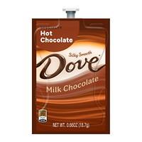 Flavia Dove Single-Serve Specialty Hot Chocolate Freshpacks, Milk Chocolate, 72/CT