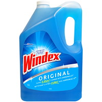 Windex Original Glass and Multi-Surface Cleaner with Ammon-D, 5 L