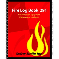 Safety Media Fire Log Book 291 - Canadian Edition