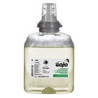 Gojo TFX Green Certified Foam Hand Soap Refills, Fragrance-Free, 1,200 mL, 2/CS